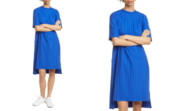 Texture Stripe T-Shirt Dress by Eileen Fisher, $198 at Nordstrom